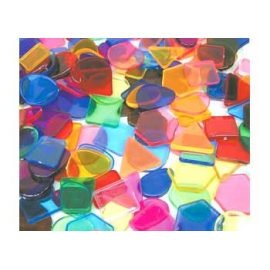Plastic Shapes Mosaic (450g)