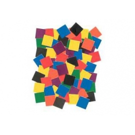 Thick Cardboard Squares Mosaic (10,000/Pack)