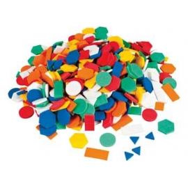 Foam Shapes Mosaic (500/Pack)