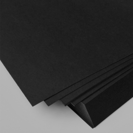Black Paper 125gm - 500/Pack (A4 & A3 Sizes Available)
