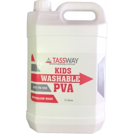 Kids Washable PVA - 5 Litres Bottle
