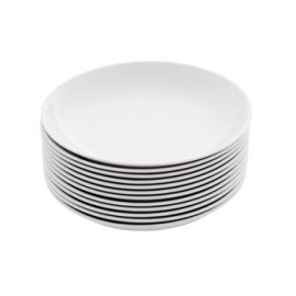 Melamine Plates - White (All Sizes Available)