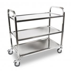 Food Service Trolley/Cart - 3 Shelves