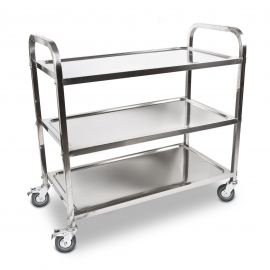 Food Service Trolley/Cart - 3 Shelves