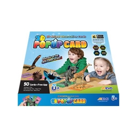 3D Augmented Reality POP UP Cards (50 Cards/Pack)