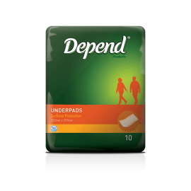 Depend® Underpads (40/Carton)