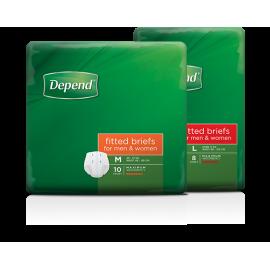 Depend® Fitted Briefs (Unisex)