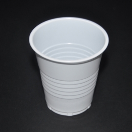 Plastic Cups (185ml/6Oz) - 1,000/Carton - White