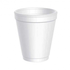 Foam Cups (237ml / 8oz) - 1,000 Cups/Carton