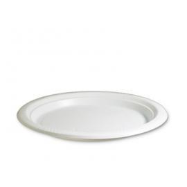 Plastic Plates - Round - White
