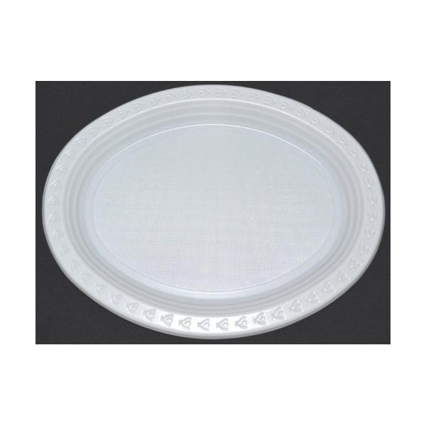 sc 1 st  Tassway & Plastic Plates - Oval - White