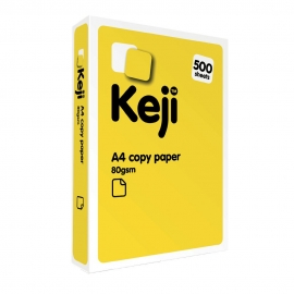 Keji A4 Copy Paper - 80gsm - White