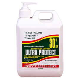 Ultra Protect® SPF30+ Sunscreen Lotion with INSECT REPELLENT