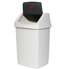 Plastic Rubbish Bins with Swing Top (All Sizes Available)