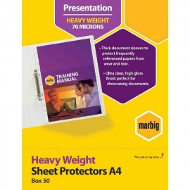 Plastic Sheets Protector - A4 Size