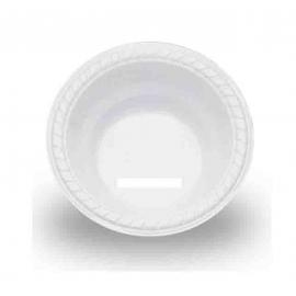 Plastic Bowls - Round - White