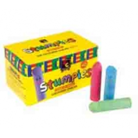 Stumpies Chalk (5.7cm x 1.4cm) - 40 Pieces/Box