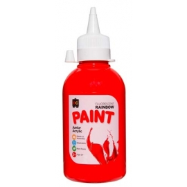 Rainbow Fluro Paint - 250ml (All Colours Available)