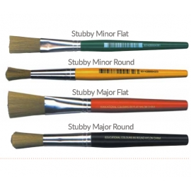 Stubby Brushes - Nylon