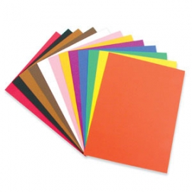 Construction Paper 100gsm (Assorted Colours)