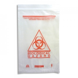 Biological Hazard Bag (50/Pack)